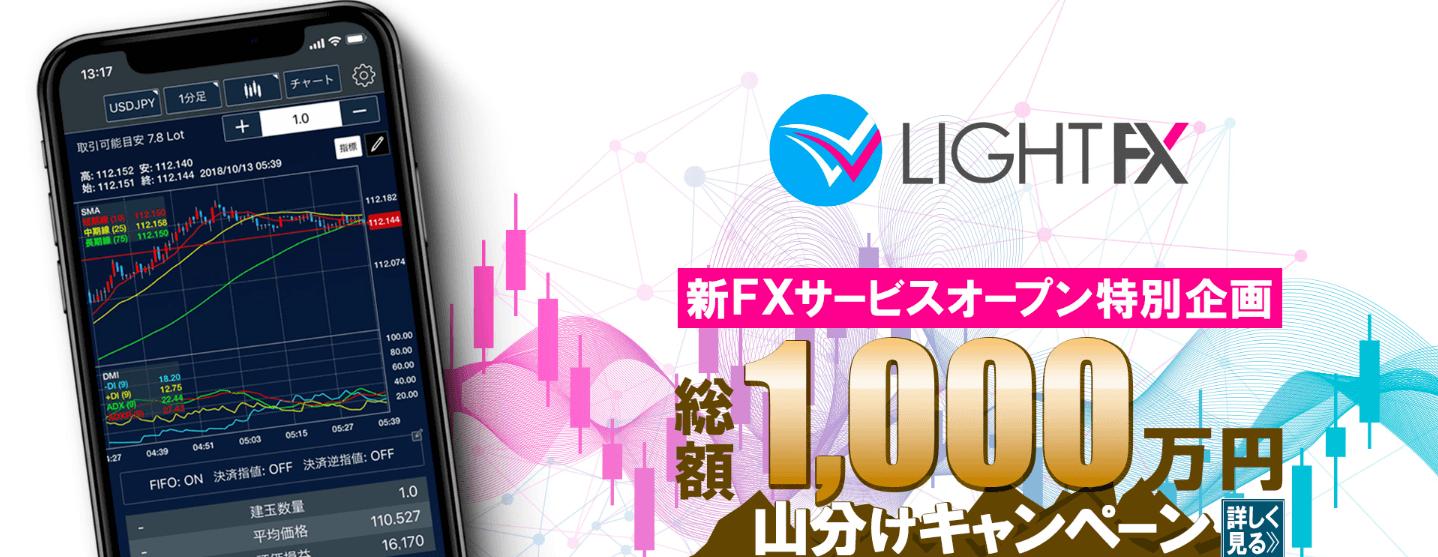 LIGHTFXのロゴ