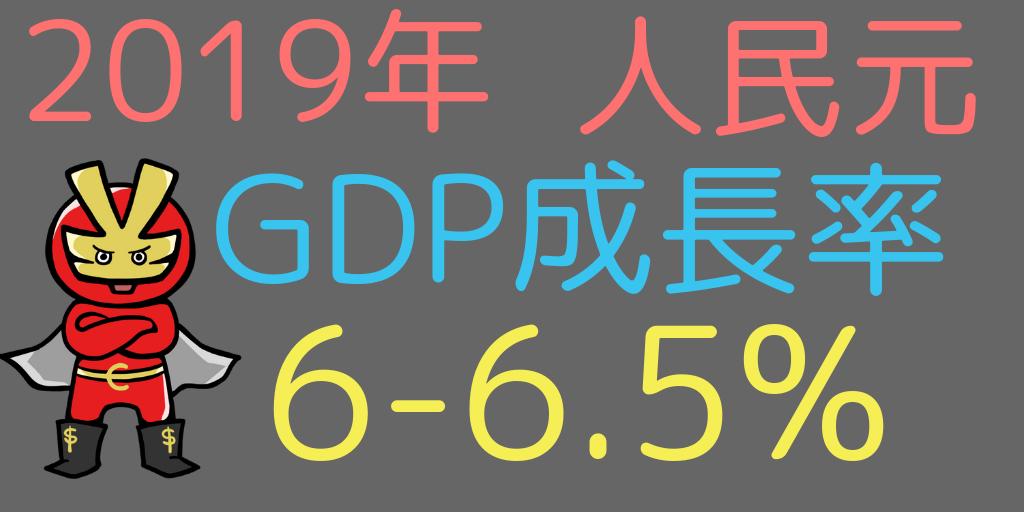 中国のGDP予測