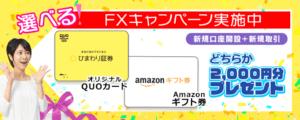 アマゾンギフトカードキャンペーン