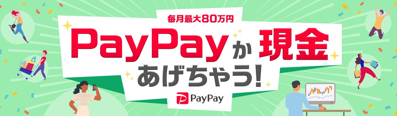 YJFXPayPayか現金キャンペーン