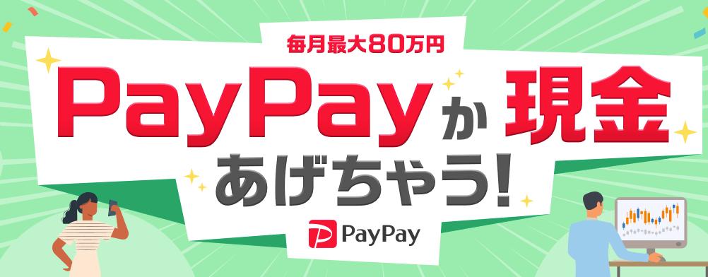 yjfxキャンペーンpaypay