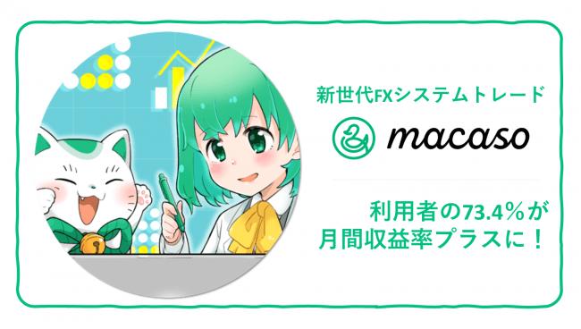 macasoの広告ページ