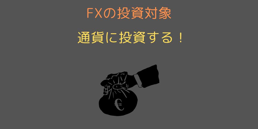 FXの投資対象