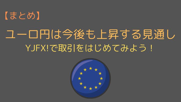 ユーロ円の見通しのまとめ