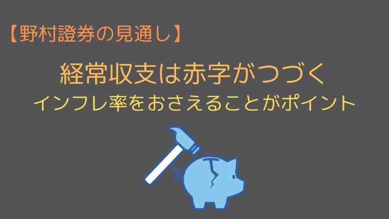 野村證券の2021年トルコリラ円の見通し