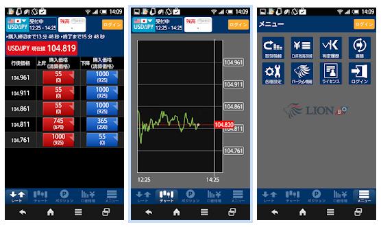 LION BO スマホアプリ