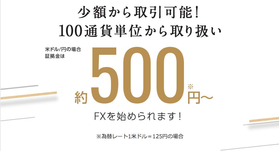 日興FX 取引単位