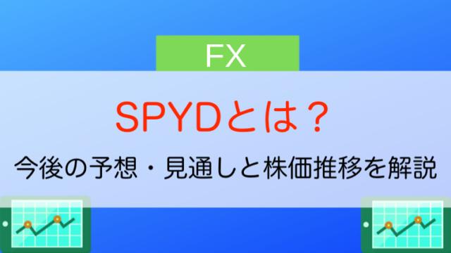 SPYDとは?