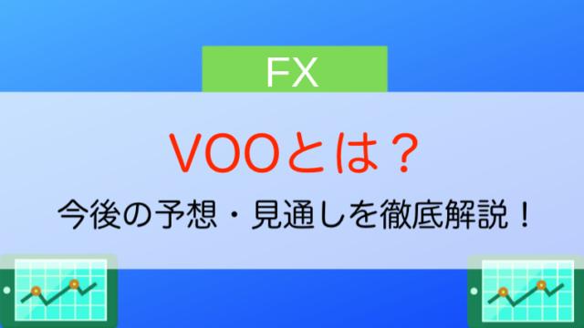 VOOとは?